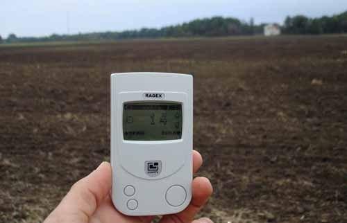 Измерение радиации с помощью